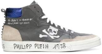Philipp Plein MM mid-top sneakers