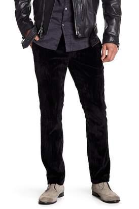 John Varvatos Collection Motor City Zip Fly Low Rider Pants