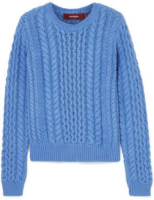 10331faf061 Womens Light Blue Knitted Sweater - ShopStyle UK