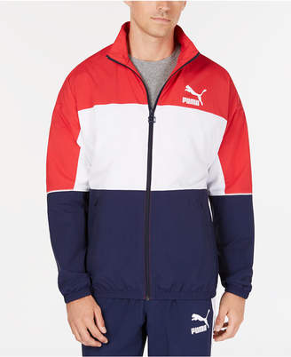 Puma Men's Colorblocked Woven Jacket