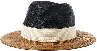 Ralph Lauren Color-Blocked Straw Panama Hat $58 thestylecure.com