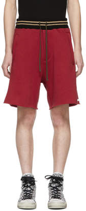 Amiri Red Lovers Track Shorts
