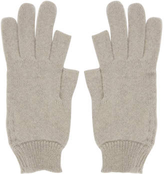 Rick Owens Off-White Texting Gloves