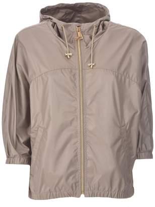 Fay Beige Hooded Jacket