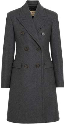 Burberry Double-breasted Wool Tailored Coat