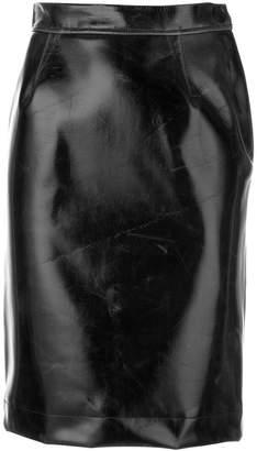 b35b9ee1e5 Vivienne Westwood creased pencil skirt