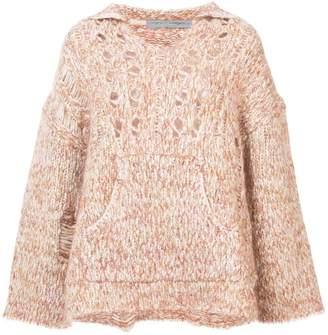 Raquel Allegra oversized knit jumper