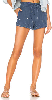 Bella Dahl Layered Fray Hem Short