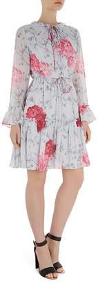 Ted Baker Babylon Ruffle-Trimmed Dress