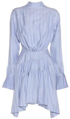 Striped Silk-twill Dress