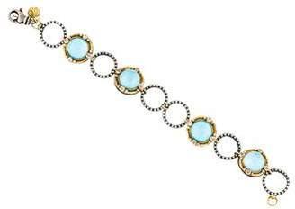 Armenta 18K Quartz Doublet & Diamond Bracelet