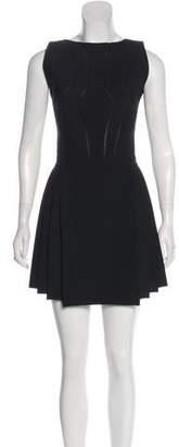 Hakaan Wool Pleated Dress