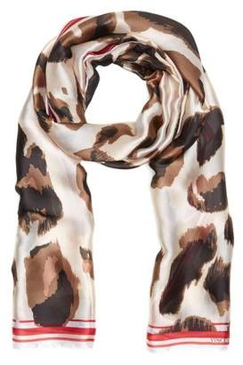 Vince Camuto Leopard-spot Scarf