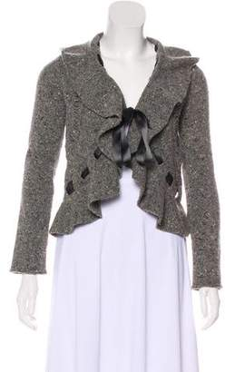 Valentino Wool Knit Cardigan