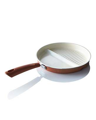 Fashion World Ceramic 2in1 Multifunctional Pan Copper