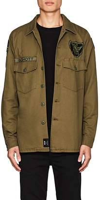"Schott NYC Perfecto Brand by PERFECTO BRAND BY MEN'S ""FLYING TENTH"" COTTON SHIRT JACKET"
