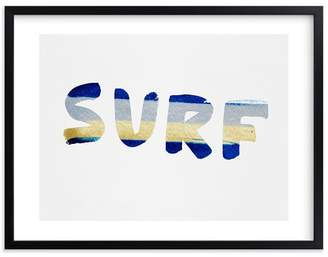 Pottery Barn Teen Surf And Sun Wall Art by Minted®, 8 x 10, Black