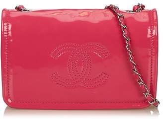 Chanel Vintage Patent Leather Chain Bag