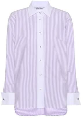Max Mara Edgard cotton tunic shirt