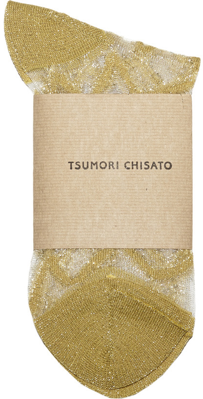 Tsumori Chisato zig zag socks
