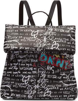 DKNY Tilly Graffiti Backpack