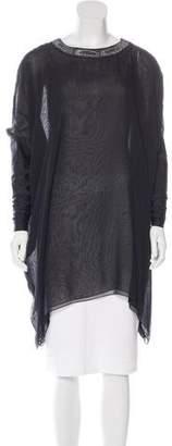 Thomas Wylde Silk Embellished Tunic