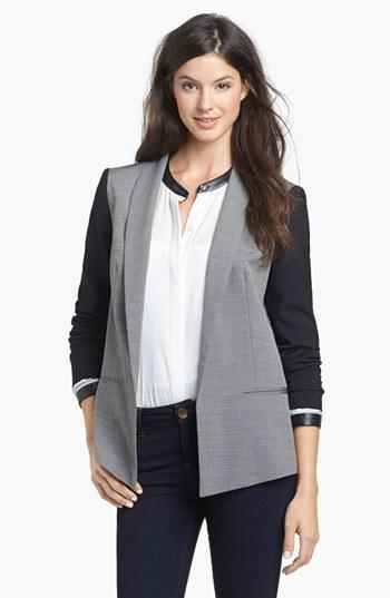 DKNY DKNYC Shawl Collar Blazer