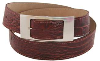 Estados Suede Lined Leather Belt