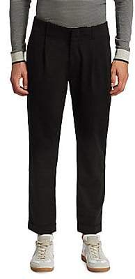 Saks Fifth Avenue Men's MODERN Pleated Cropped Trouser