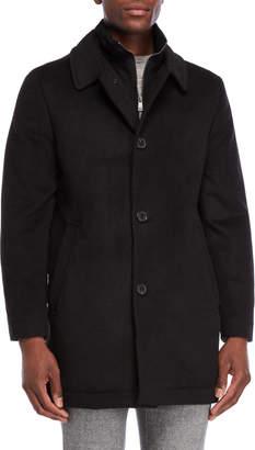 Hart Schaffner Marx Macbeth Bib Wool Coat