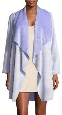 Karen Neuburger Frosted Open-Front Robe