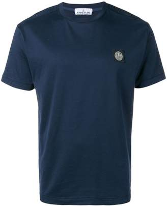 Stone Island logo patch T-shirt