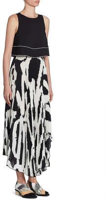 Proenza Schouler Sleeveless Pleated Dress