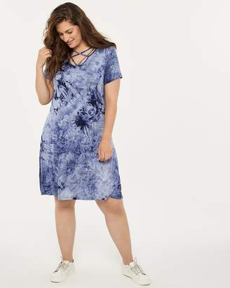 ONLINE ONLY - Printed Swing Dress - In Every Story