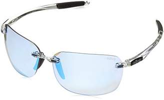 Revo Unisex RE 1070XL Descend Oversized Rectangular Polarized Sunglasses