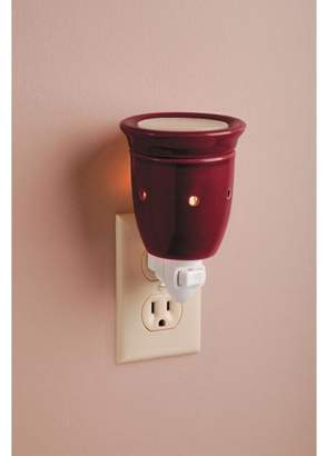 Darice Ceramic Plug-In Wax Warmer - Solid Burgundy Design