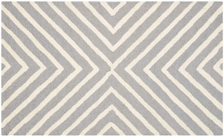 Yvaine Rug - Gray/Ivory - 2'6