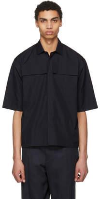 Jil Sander Navy Front Pocket Shirt