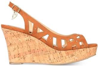 372f83ece54 Thalia Sodi Womens Ebbie Fabric Open Toe Casual Platform