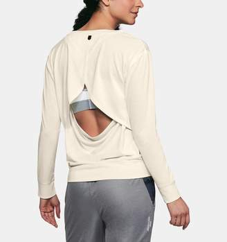 Under Armour Women's UA Unstoppable Open Back Long Sleeve