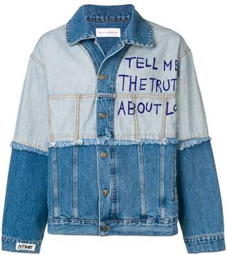 Faith Connexion Love denim jacket