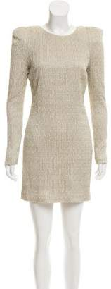 Camilla And Marc Metallic Mini Dress