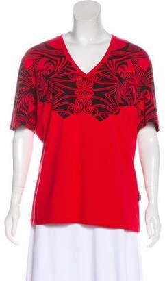 Just Cavalli Printed Short Sleeve T-Shirt
