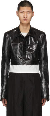 Rick Owens Black Little Joe Jacket