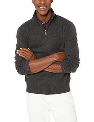 J.Crew Mercantile Men's Supersoft Wool Blend Half Zip Sweater