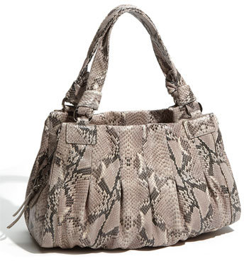 Cole Haan 'Triple Zip' Snake Embossed Satchel