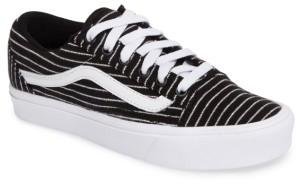 Women's Vans Old Skool Lite Stripe Sneaker $64.95 thestylecure.com