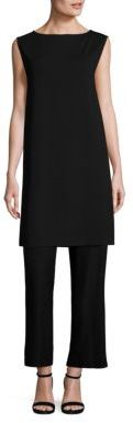 Eileen Fisher Boatneck Tunic $178 thestylecure.com