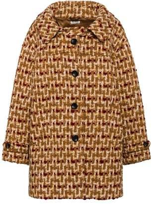 Miu Miu tweed midi coat