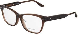 Bottega Veneta Rectangular Acetate Optical Frames